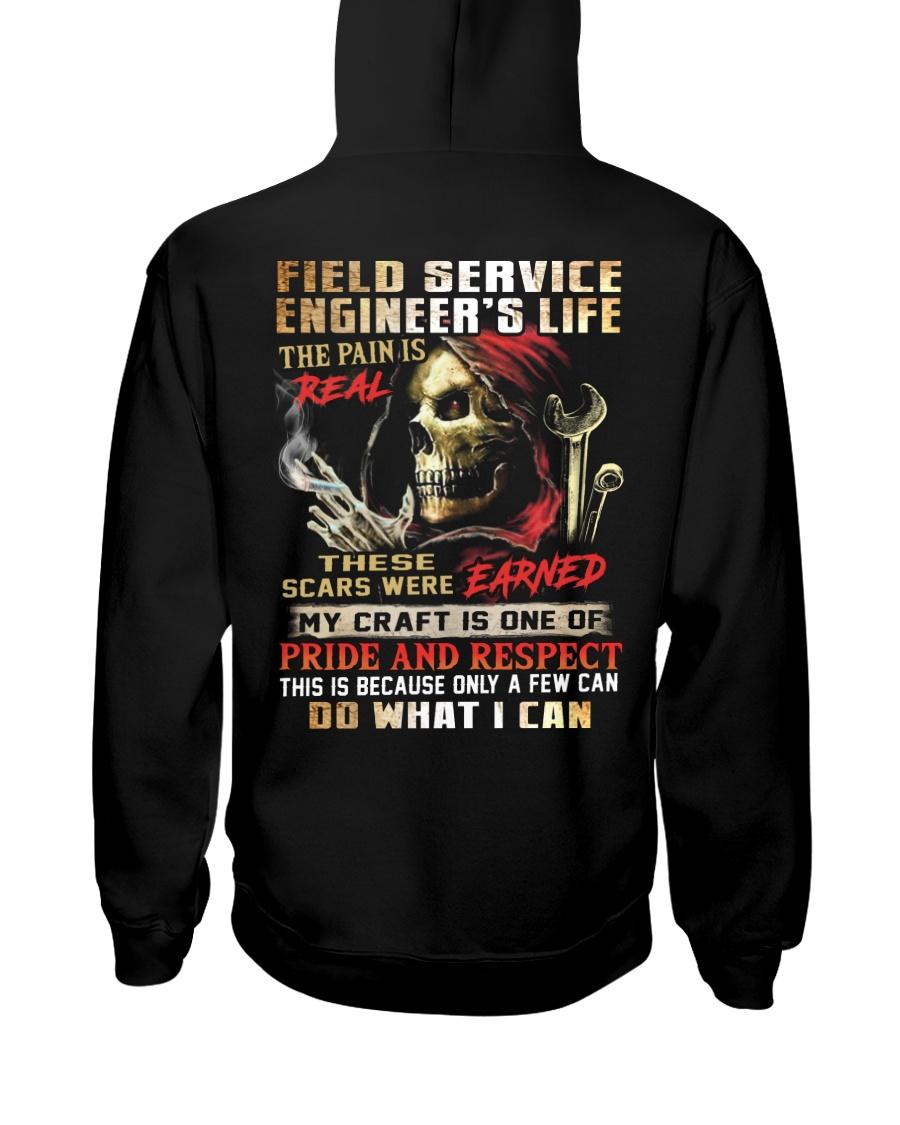 Field Service Engineer Hooded Sweatshirt