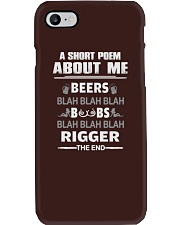 RIGGER EXCLUSIVE SHIRT Phone Case thumbnail