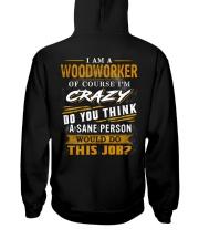Woodworker Hooded Sweatshirt back