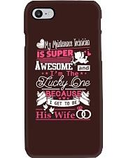 MAINTENANCE TECHNICIAN'S WIFE Phone Case tile