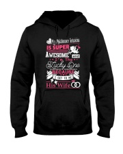 MAINTENANCE TECHNICIAN'S WIFE Hooded Sweatshirt front