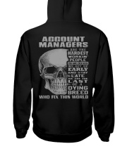 Account Manager Hooded Sweatshirt back
