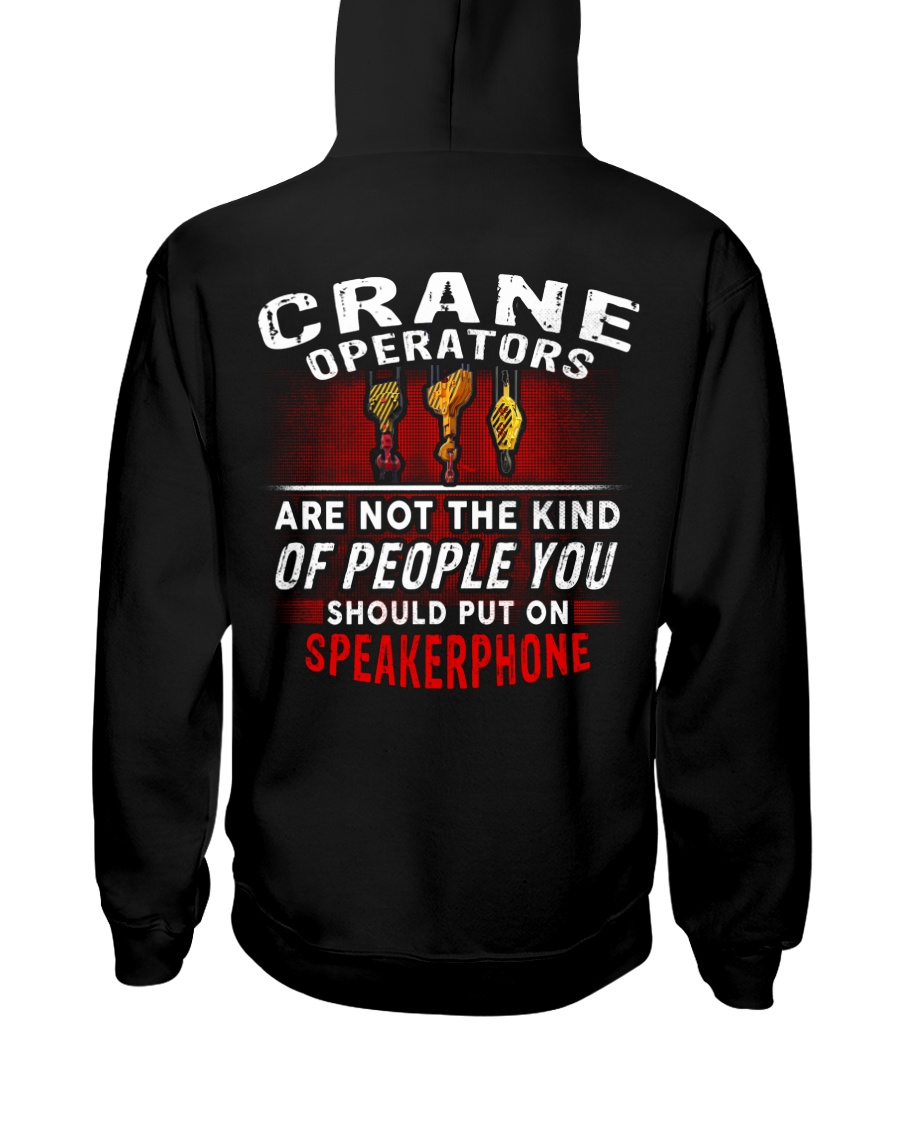 Crane Operator7 Hooded Sweatshirt