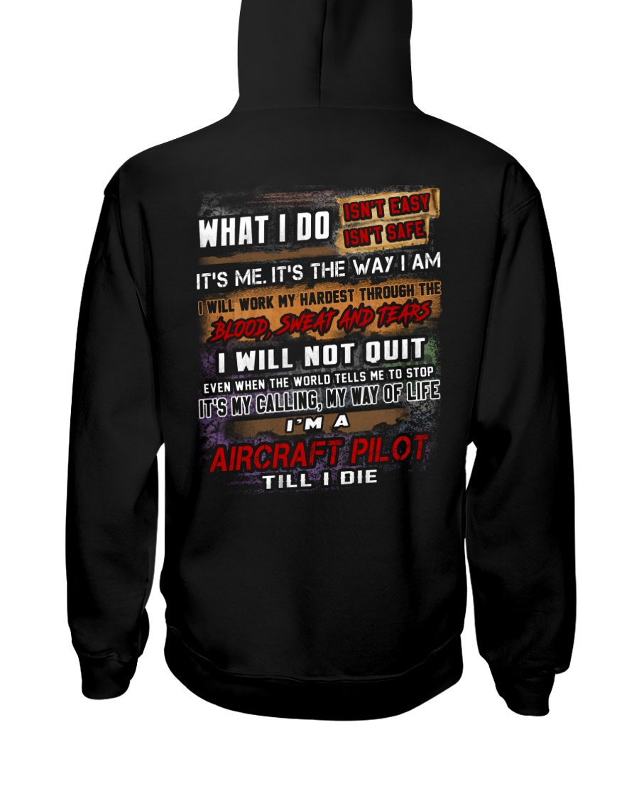 Aircraft Pilot Hooded Sweatshirt