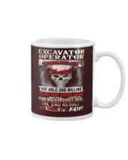 Excavator Operator Mug thumbnail