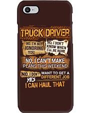 Truck Driver Phone Case thumbnail