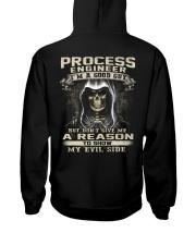 Process Engineer Hooded Sweatshirt back