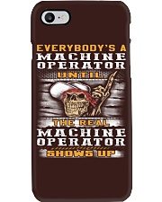 Machine Operator Phone Case thumbnail