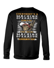 Machine Operator Crewneck Sweatshirt thumbnail