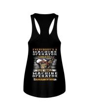 Machine Operator Ladies Flowy Tank thumbnail