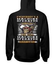 Machine Operator Hooded Sweatshirt back