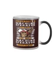 Machine Operator Color Changing Mug thumbnail