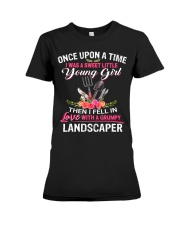 Landscaper Premium Fit Ladies Tee thumbnail