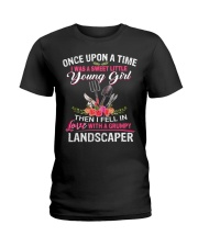 Landscaper Ladies T-Shirt front