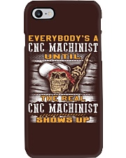 Cnc Machinist Phone Case tile