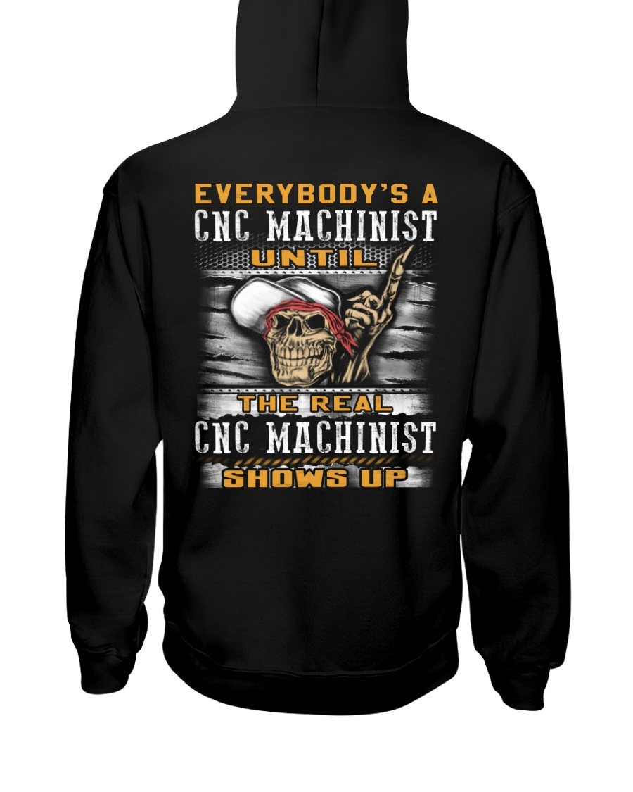 Cnc Machinist Hooded Sweatshirt