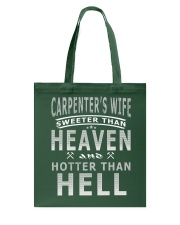 CARPENTER'S WIFE T-SHIRT Tote Bag thumbnail