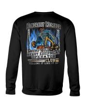 Heavy Equipment Operator Crewneck Sweatshirt thumbnail