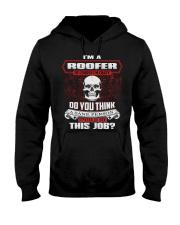 Roofer Exclusive Shirt Hooded Sweatshirt front
