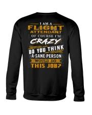 Flight Attendant Crewneck Sweatshirt thumbnail