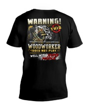 Woodworker V-Neck T-Shirt thumbnail