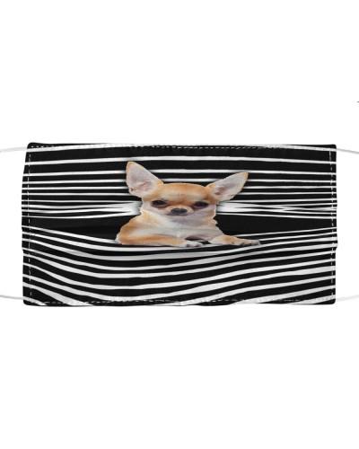 Chihuahua Art Face Mask