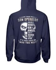 Saw Operator Hooded Sweatshirt back