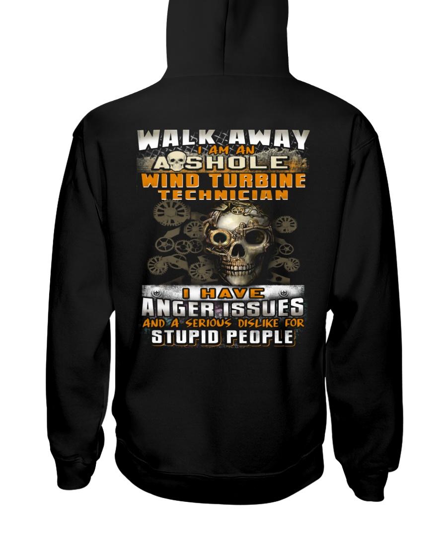 Wind Turbine Technician Hooded Sweatshirt