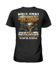 Wind Turbine Technician Ladies T-Shirt thumbnail