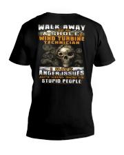 Wind Turbine Technician V-Neck T-Shirt thumbnail