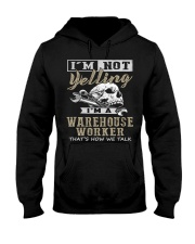 Warehouse Worker Hooded Sweatshirt front