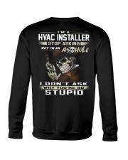 Hvac Installer Crewneck Sweatshirt thumbnail