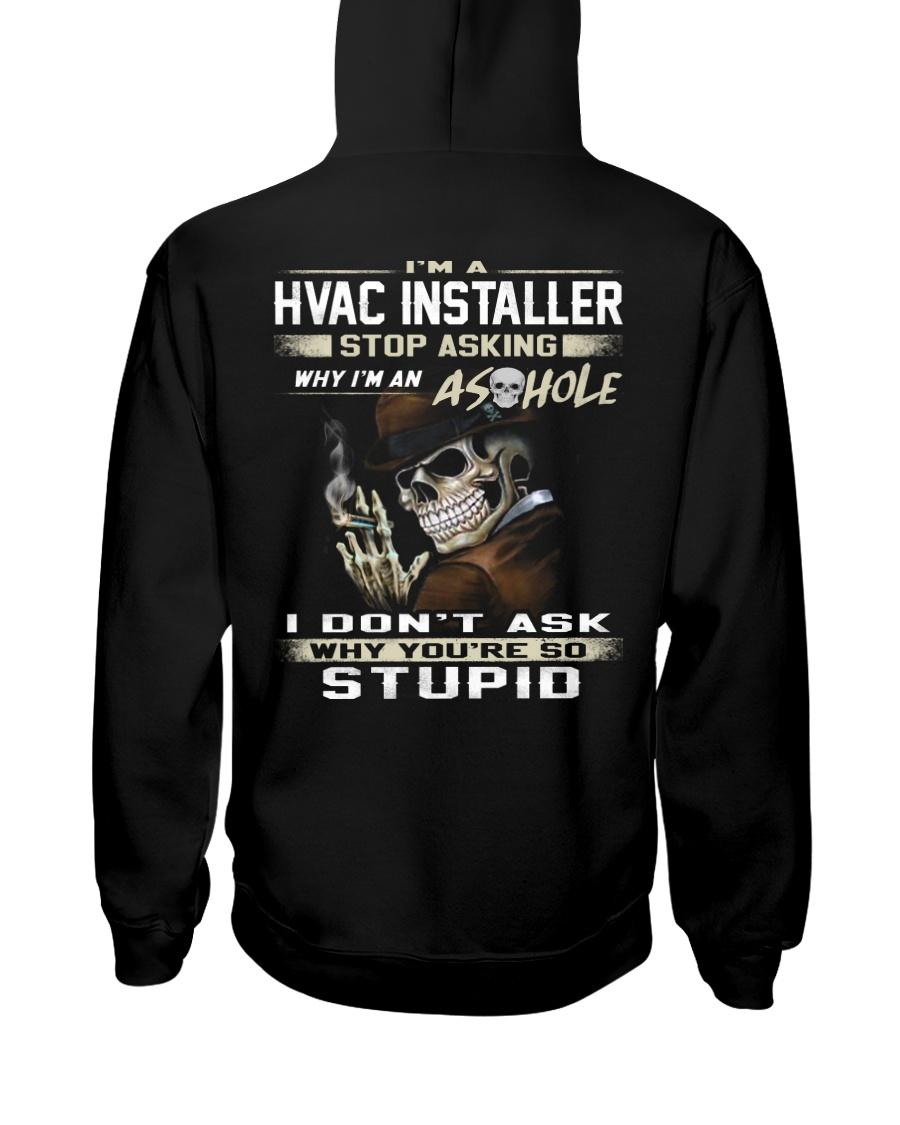 Hvac Installer Hooded Sweatshirt
