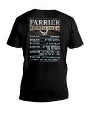 Farrier V-Neck T-Shirt thumbnail