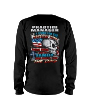 Practice Manager Long Sleeve Tee thumbnail