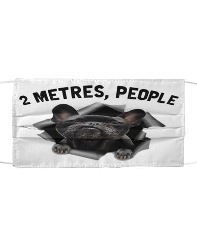 French Bulldog - 2 Metres People