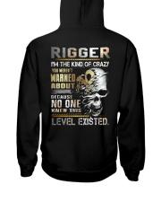 Rigger Hooded Sweatshirt back
