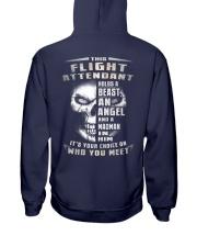 Flight Attendant Hooded Sweatshirt back