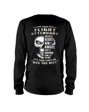 Flight Attendant Long Sleeve Tee thumbnail