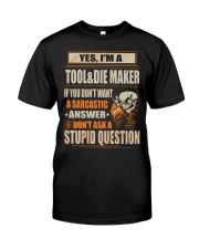 Tool and Die Maker Classic T-Shirt front