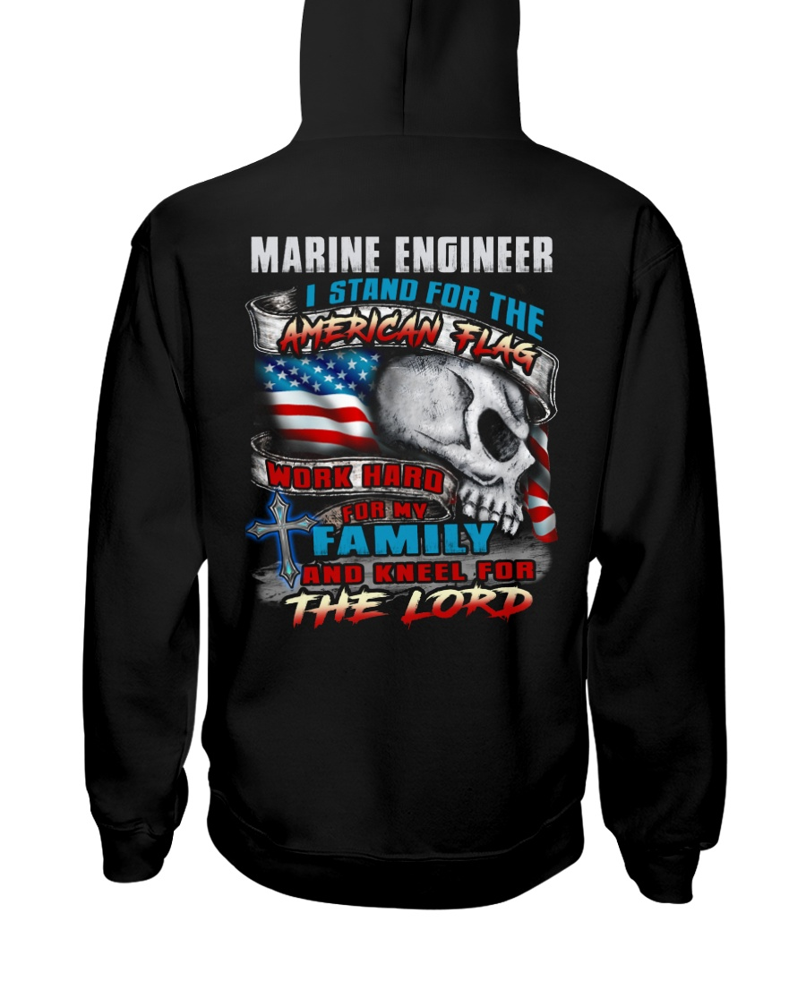 Marine Engineer Hooded Sweatshirt