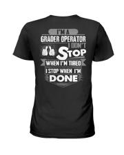 Grader Operator Exclusive Shirts Ladies T-Shirt thumbnail