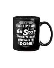 Grader Operator Exclusive Shirts Mug thumbnail