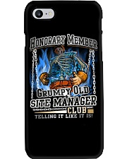 SiteManager-grumpy2 Phone Case thumbnail