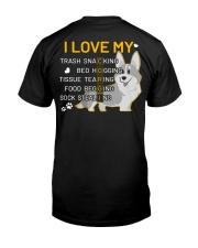 I Love My Corgi Dog Classic T-Shirt thumbnail