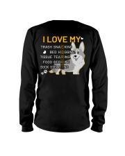 I Love My Corgi Dog Long Sleeve Tee thumbnail