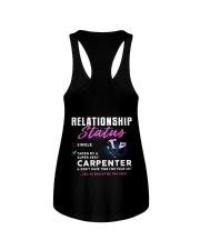 Carpenter Relationship Status Ladies Flowy Tank tile