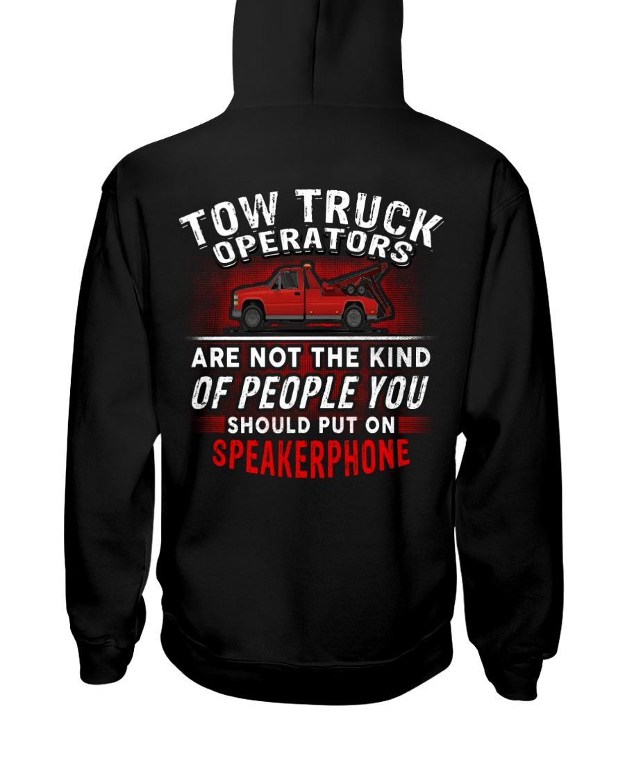 Tow Truck Operator Hooded Sweatshirt
