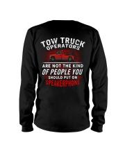 Tow Truck Operator Long Sleeve Tee thumbnail
