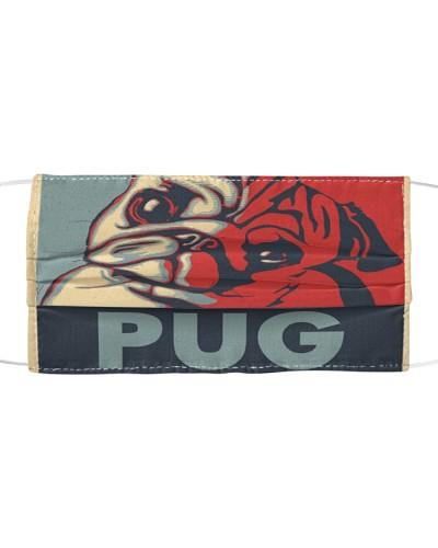 Pug Art Face Mask